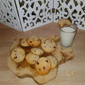 Cookie noisette et pepites de chocolat - So-CuiZine