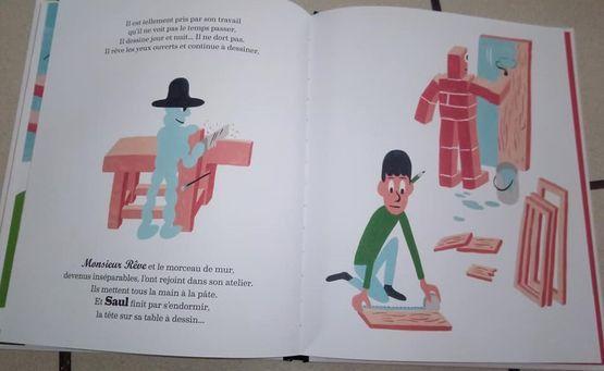 Dans ma Bibliothèque #42 : Saul, Monsieur Rêve & le morceau de mur