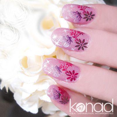 Stamping nail art Konad 2010