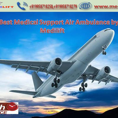 Amenity and Easy Transportation at Hand by Medilift Air Ambulance Service in Kolkata