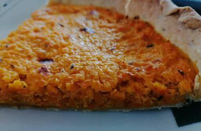 Quiche carottes-cumin (avec ou sans Thermomix)
