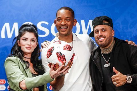 Will Smith chantera aujourd'hui à la finale de la coupe du monde France - Croatie 🎉