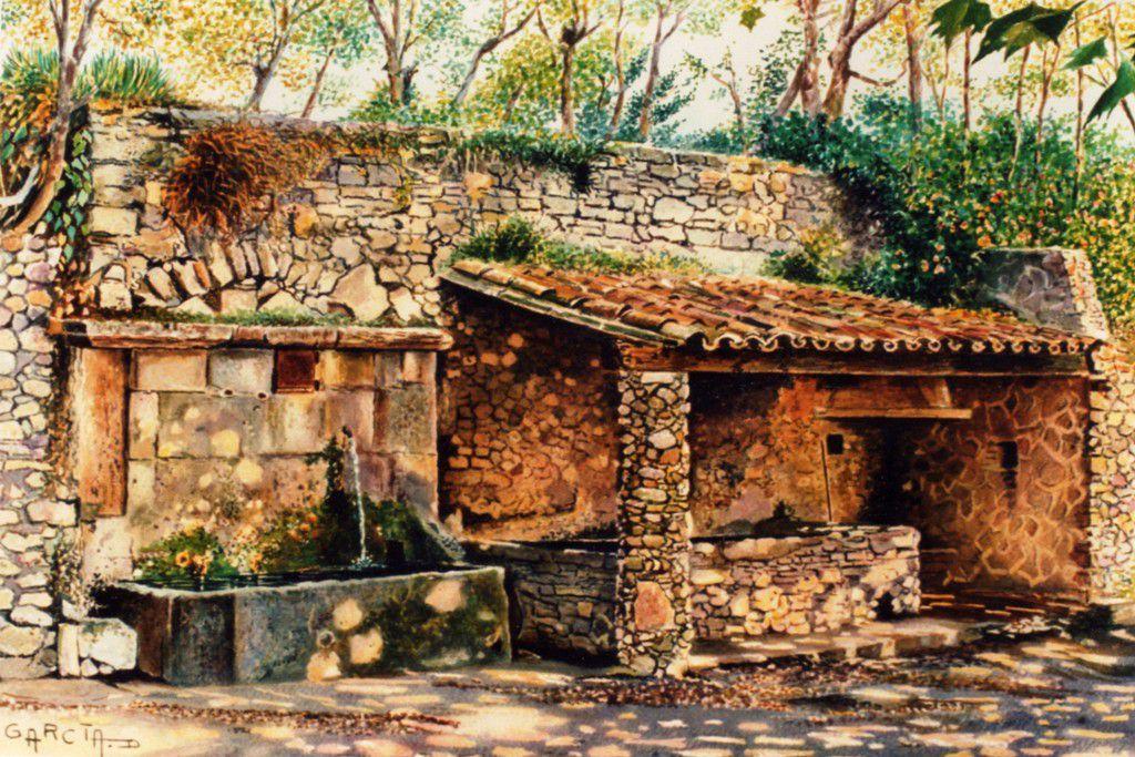 Les lavoirs - Le Castellet en Provence -