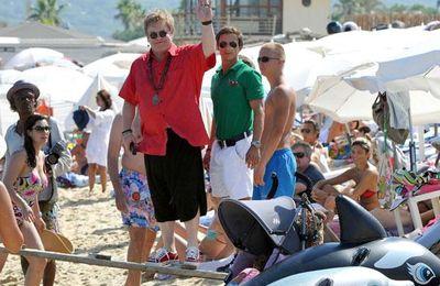 Elton John à St-Tropez