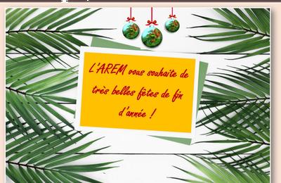 L'AREM vous souhaite de joyeuses fêtes de fin d'année