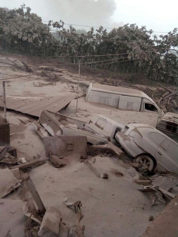 Guatemala: Eruption du volcan Fuego: 68 morts
