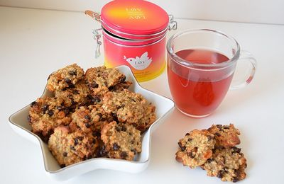Les cookies version healthy {recette}
