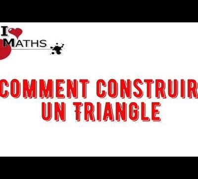 Comment construire un triangle