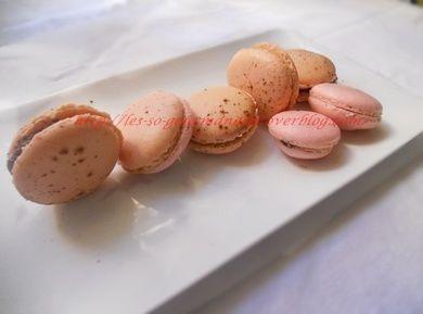 Macarons à la meringue française