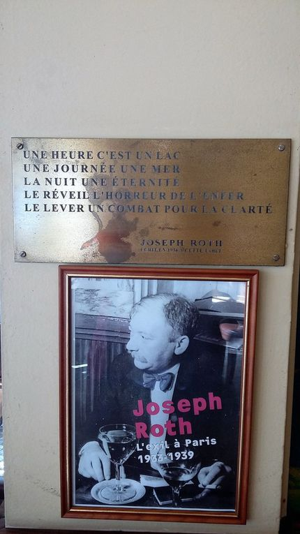 """Paris 6e : au """"Café-Comptoir Tournon"""", Joseph Roth, ça vous dit quelque chose ?"""