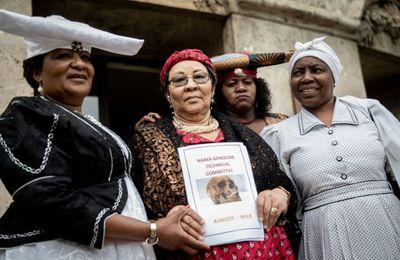 Génocide en Namibie. Il y a un an, en guise de réparation et d'excuses, l'Allemagne remettait des ossements des tribus Herero et Nama.