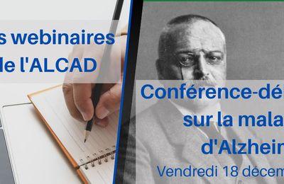 Webinaire - Conférence-débat sur la maladie d'Alzheimer
