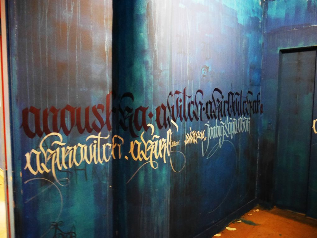 Rehab1: exposition éphémère de graff à la maison des arts et métiers