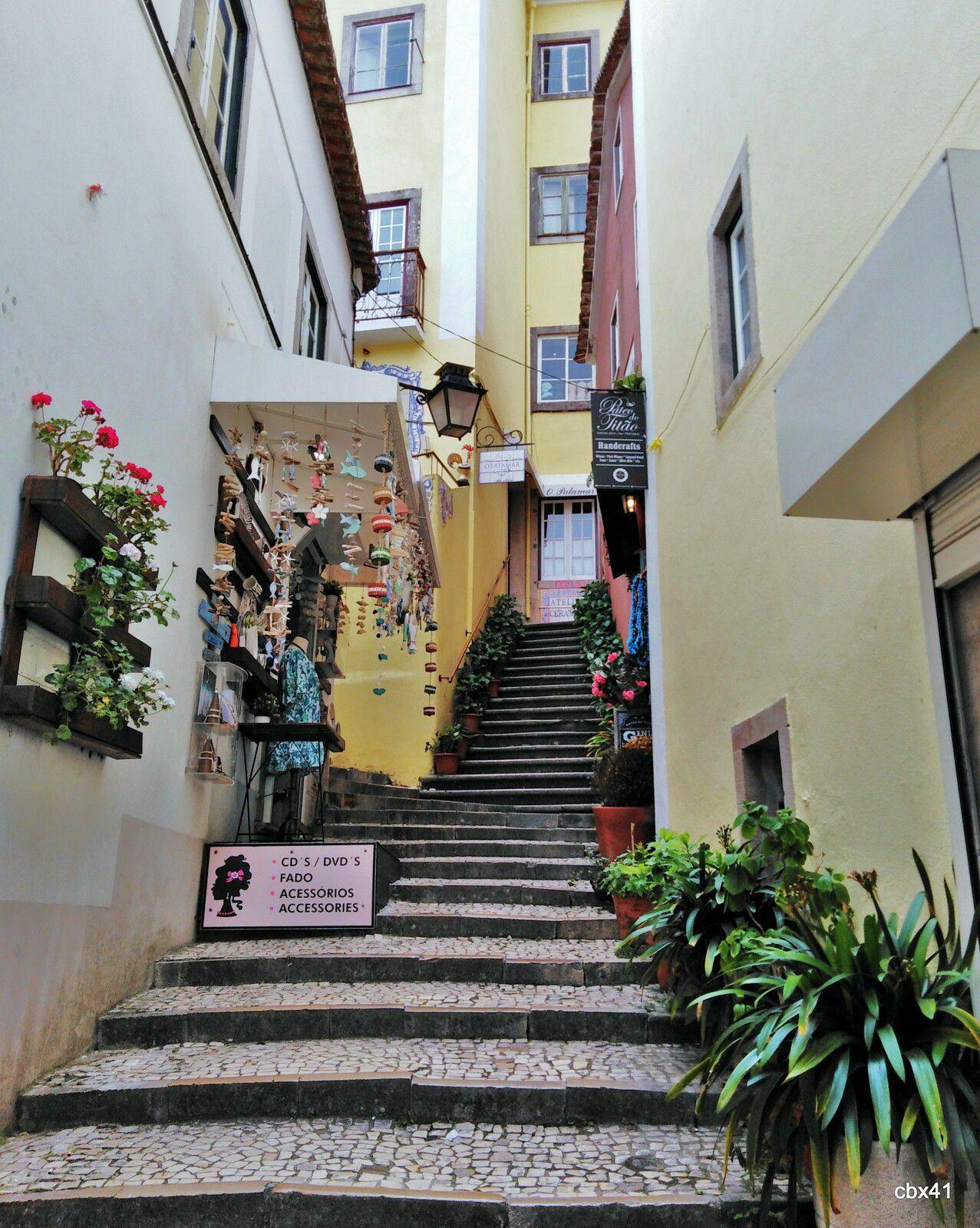 Dans les ruelles de Cascais (Portugal)