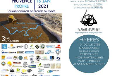 16 janvier : Provence Propre