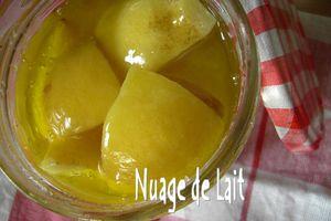 Citrons Confits Maison au sel