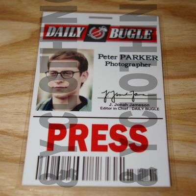 Carte Peter Parker Daily Bugle - SPIDERMAN