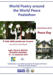 World Poetry around the World Peace Poetathon - United Nations World Peace Day