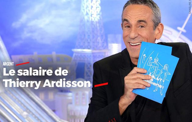 Le salaire de Thierry Ardisson #business