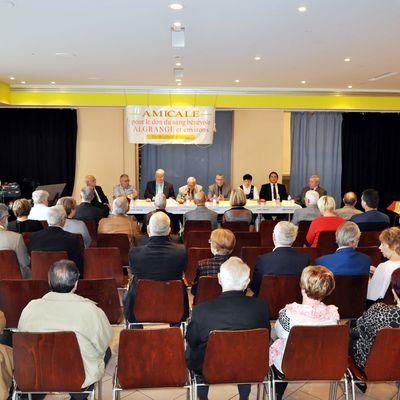 Assemblée Générale des donneurs de sang à Algrange, en 2014