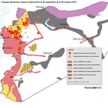 Syrie : quand la TV dénonce les bombardements russes sur Al-Qaïda ...!
