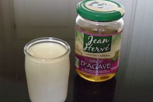 Yaourts au sirop d'agave