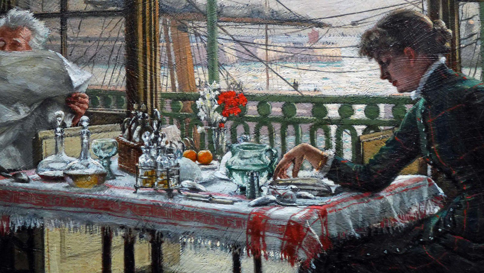 Room overlooking the harbour (1875-1876), collection particulière