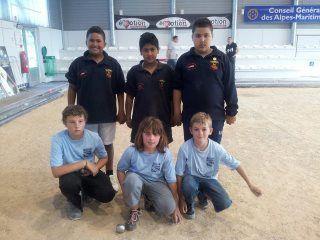 Championnat départemental jeunes du C. D. Alpes -Maritimes