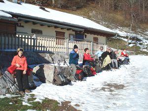C'était le 11 décembre, de Wasserbourg au Ried, avec les randonneurs