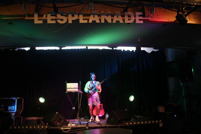 Nino Gotfunk l'esplanade Arcade 07-08-2021