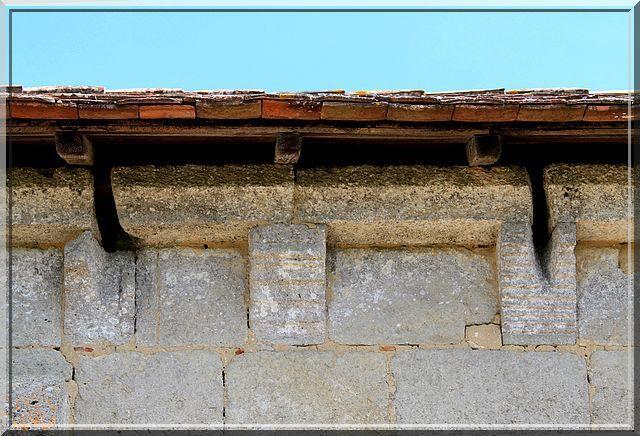 Diaporama église fortifiée de Parsac à Montagne