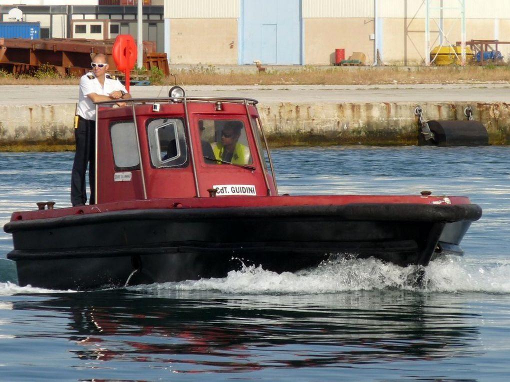 CDT GUIDINI , vedette du service de lamanage du port de Toulon
