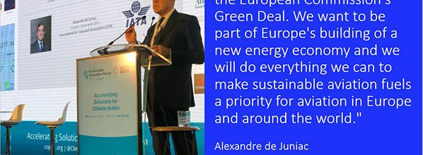 Opportunity for Aviation in Europe's Green Deal