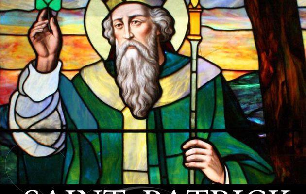17 mars, Fête de Saint Patrick, patron des Irlandais