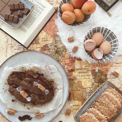 Brownie au chocolat allégé