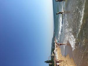 Se baigner dans la mer Noire ...