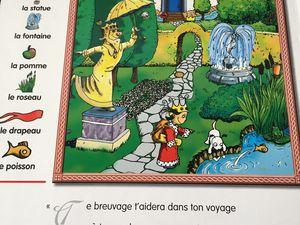 princesse charlotte cherche et trouve  -livre geant- charlotteblabla log*