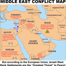 Middle East Conflict Map