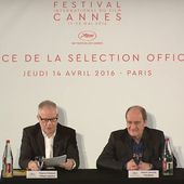 La liste des films en sélection officielle au Festival de Cannes 2016. - LeBlogTvNews