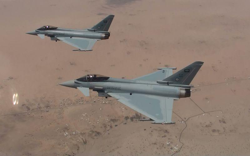 Les Typhoon saoudiens dépassent le cap des 10.000 heures de vol