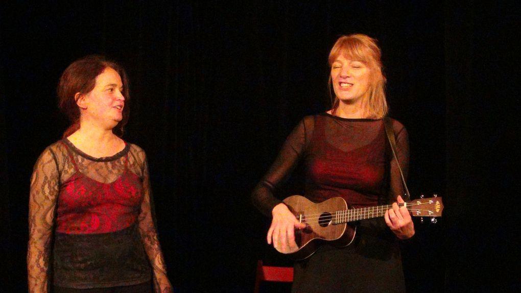Karine Leroy et Catherine Lavelle - Crédit photo Julien Marrant