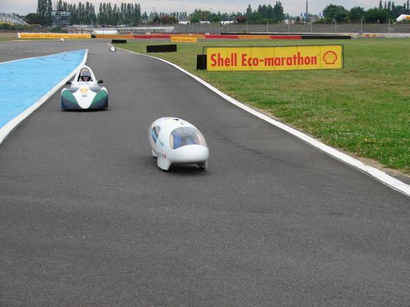 Photos de l'édition 2008 de l'European Shell Eco-Marathon.