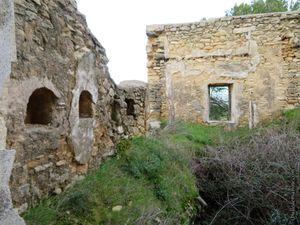 Les vestiges de la ferme de la Pastorale