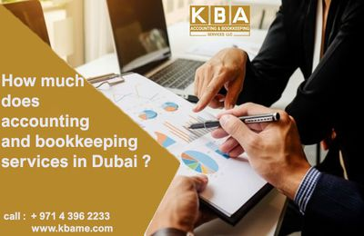 Accouting and Bookkeeping services in Dubai