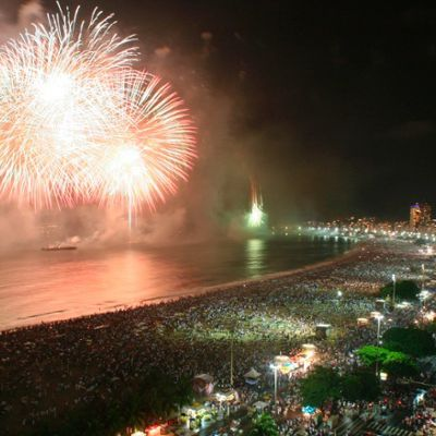 The magnificent 4km sweep of Copacabana beach