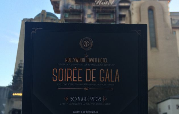 Soirée Hollywood Tower Hotel à Disneyland Paris