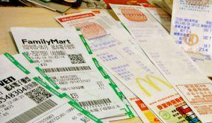 Taipei pas comme les autres: les tickets de caisse