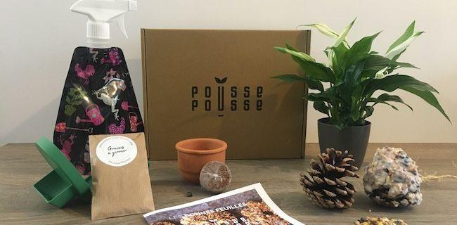 Pousse Pousse La Box de Jardinage Idéale-Pousse Pousse The Ideal Gardening Box