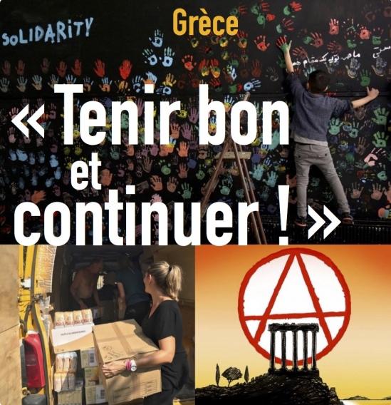 « TENIR BON ET CONTINUER ! »