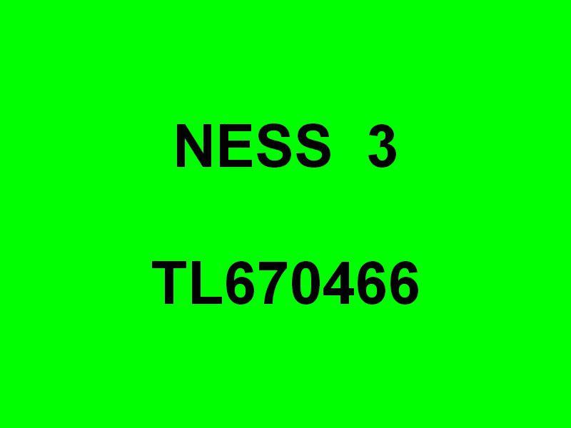 NESS 3 , TL670466 a quai dans le port de Toulon le28 septembre 2016